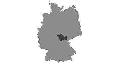 Map / Thuringian Forest