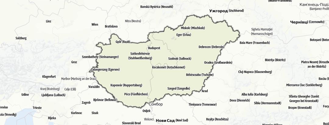 Map / Hungary