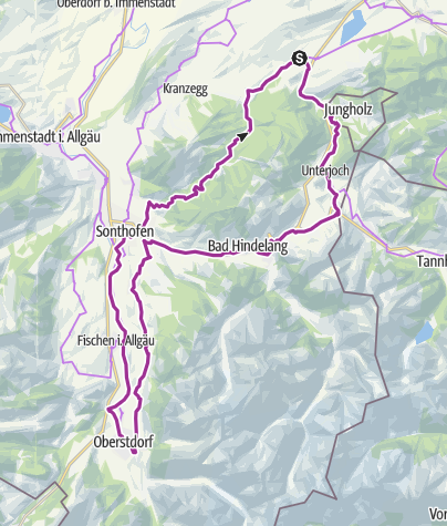 Map / Wertach-Schattw.Hindela.Oberstd.Sonth.