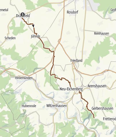 Karte / Zur Teufelskanzel