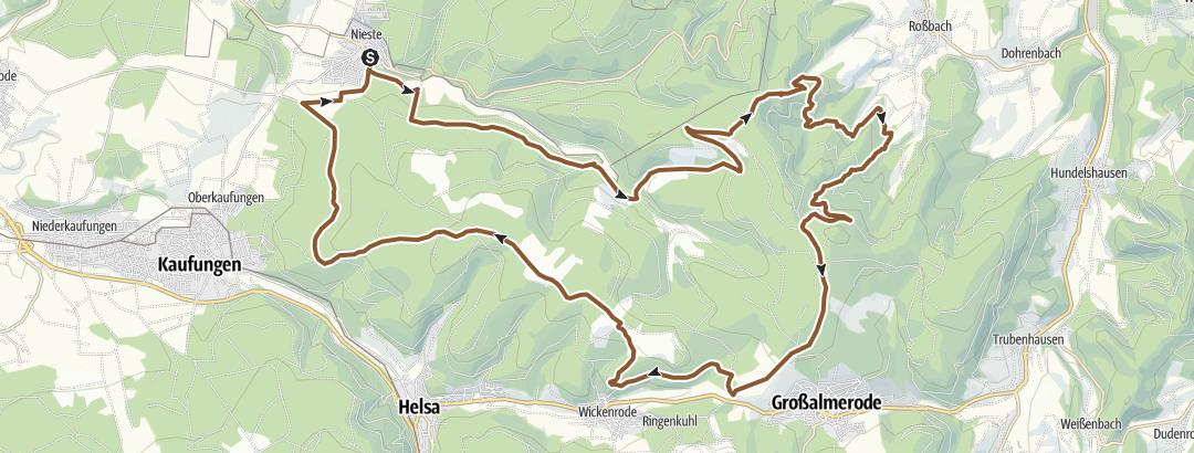 Karte / Kaufungerwald