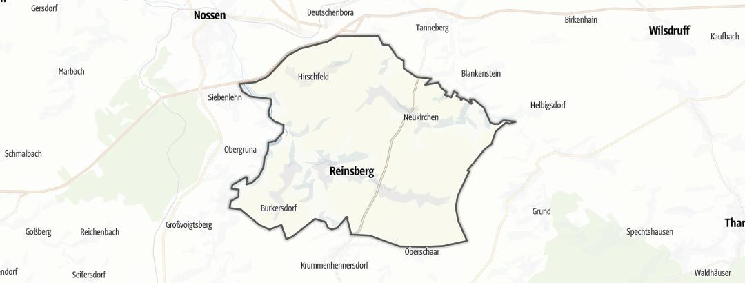 Karte / Wandern in Reinsberg
