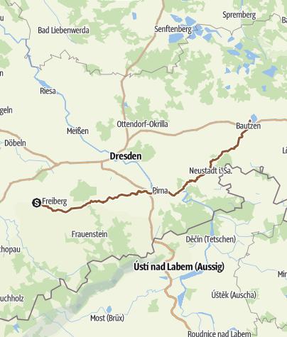 Karte /  Wegefarth - Bautzen Nr. 2