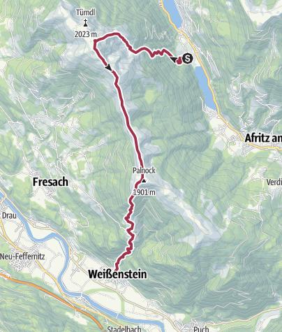 Karte / Tourplanung am 27.04.2014 20:11