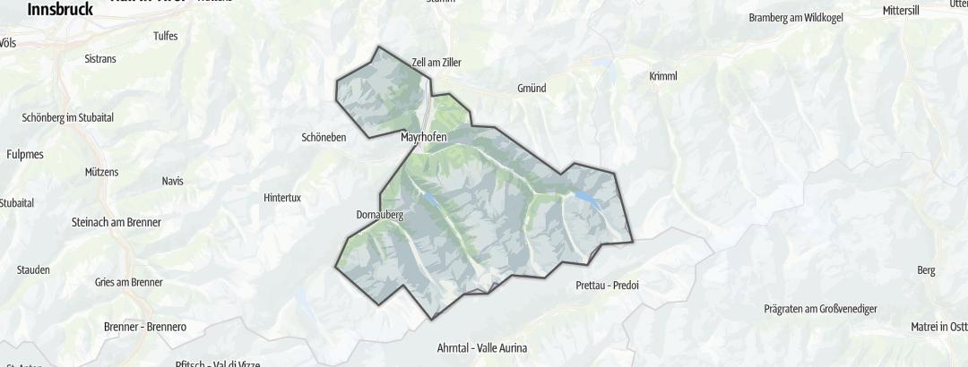 Karte / Mayrhofen