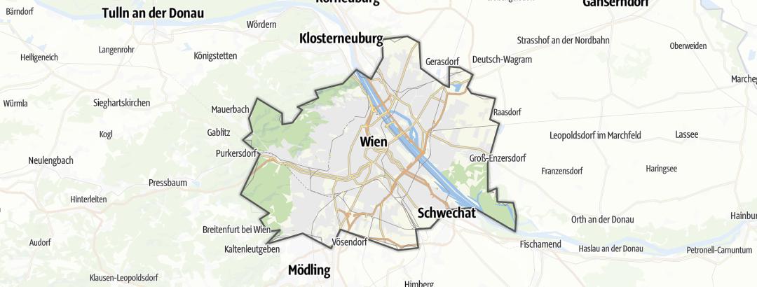 Karte / Wien