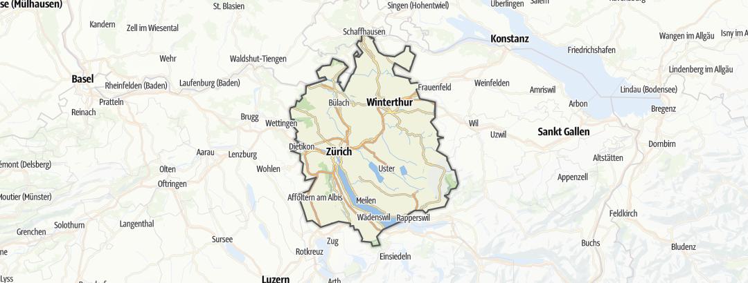 Karte / Zürich