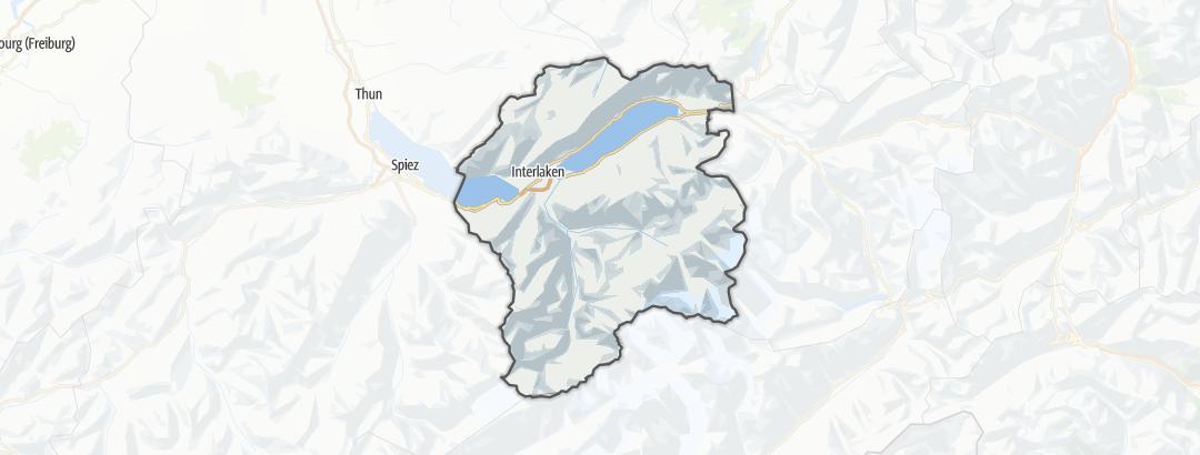 Map / Interlaken-Oberhasli