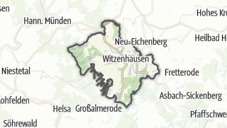 Karte / Hütten in Witzenhausen