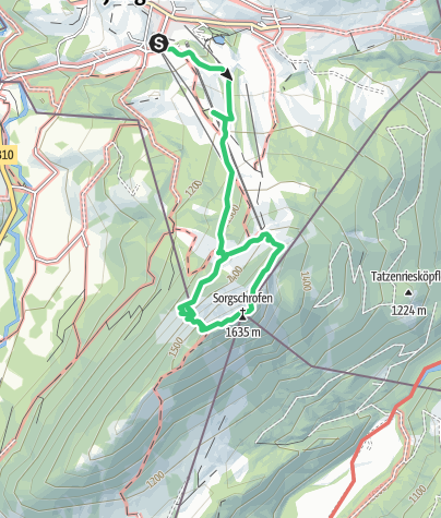 Map / Klettern - Zinken - Nordgrat