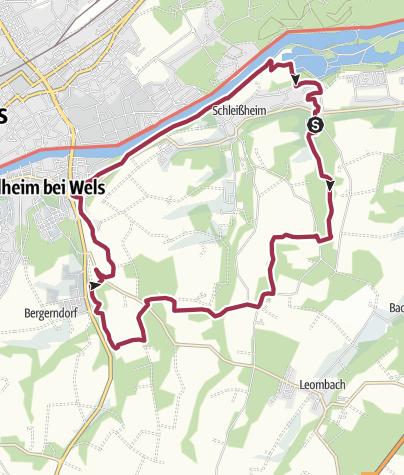 Karte / Thalheim - Schleißheim
