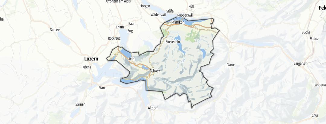 Karte / Schwyz