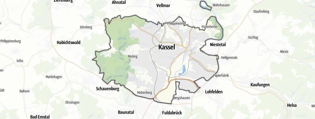Karte / Museen in Kassel
