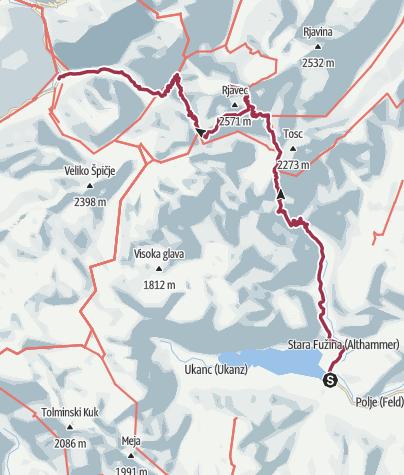 Karte / RaRo Hajk