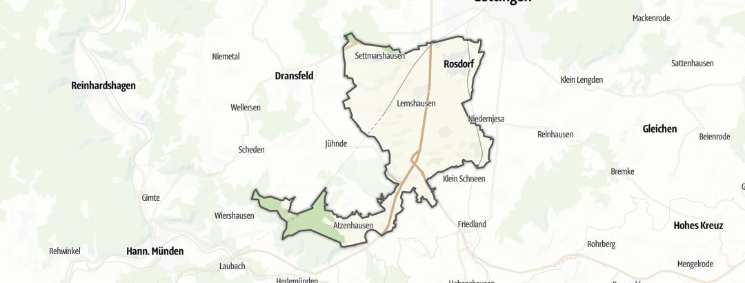 Karte / Touren in Rosdorf