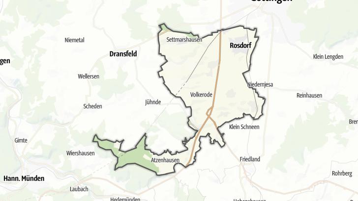 Karte / Rosdorf