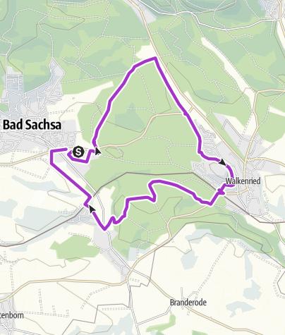 Karte / Sachsa-Runde