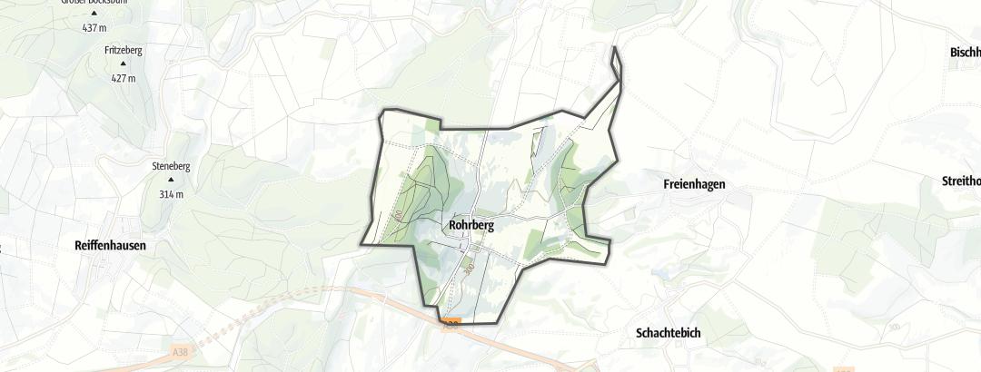 Karte / Radfahren in Rohrberg