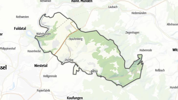 Karte / Staufenberg