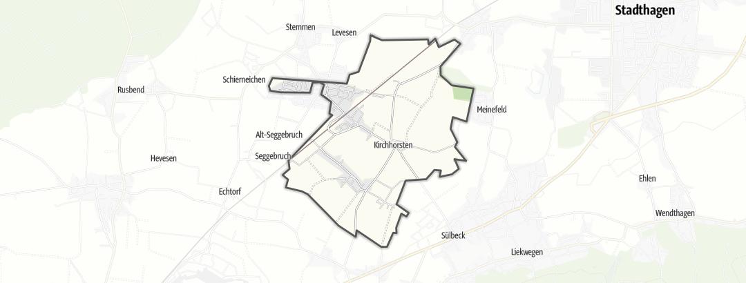 Karte / Helpsen
