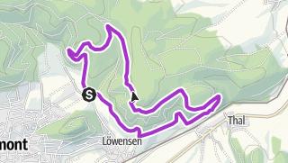 Karte / Laufen_Hohe Stolle - Hessental_10,2 km