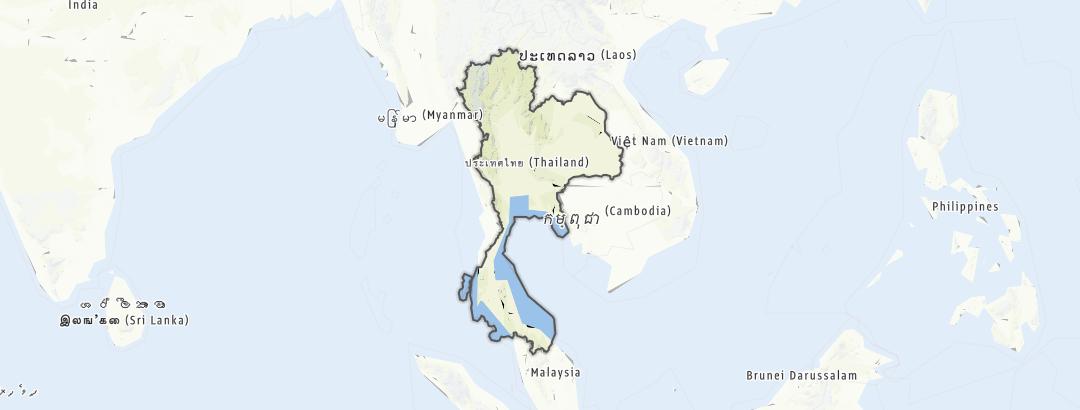 Map / Thailand