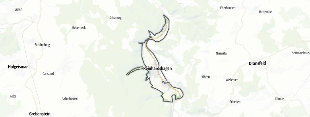 Karte / Radfahren in Reinhardshagen