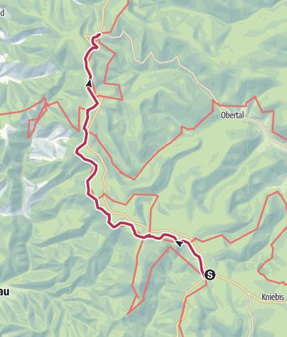 Map / Alexanderschanze - Ruhestein