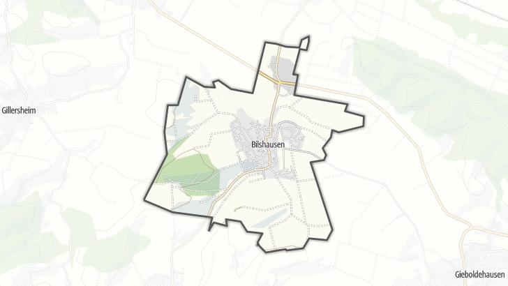 Karte / Bilshausen