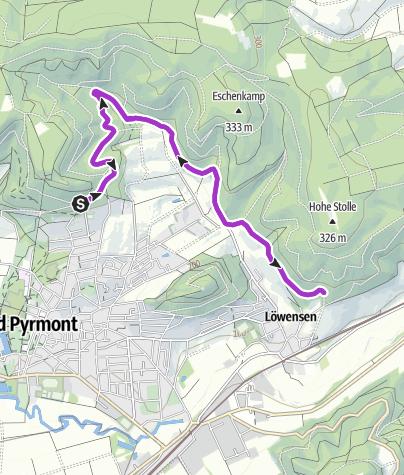 Karte / Laufen_Hohe Stolle_10,4 km
