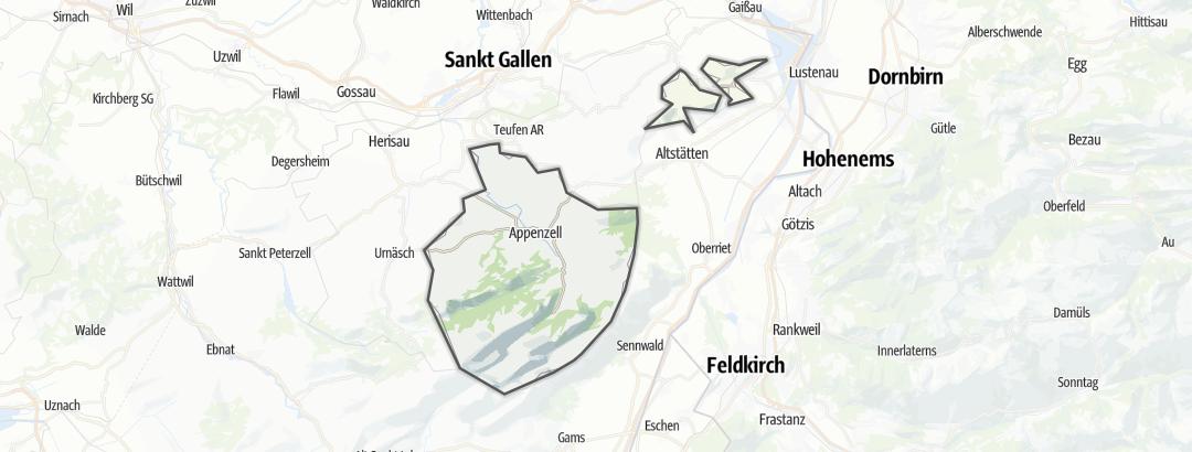 Karte / Appenzell Innerrhoden