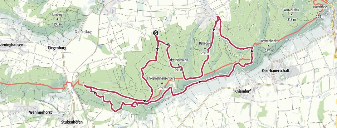 Karte / Bad Holzhausen