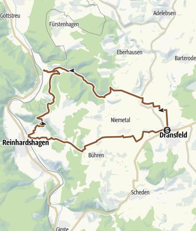 Karte / MTB-Runde3