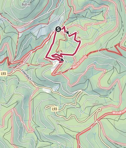 Map / Himmmelsfelsenrunde