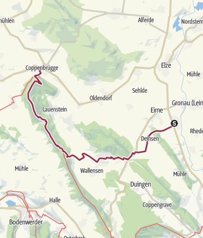 Karte / Banteln-Coppenbrügge