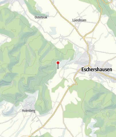 Karte / Wanderparkplatz Eschershausen Stauweiher
