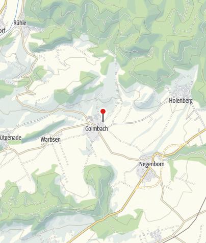 Karte / Wanderparkplatz Golmbach