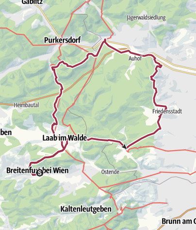 Karte / Lainzer TG hardcore