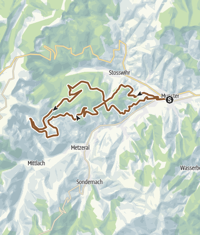 Carte / Vosges Lac Schiessroth