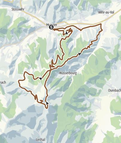 Carte / Vosges Le Petit Ballon