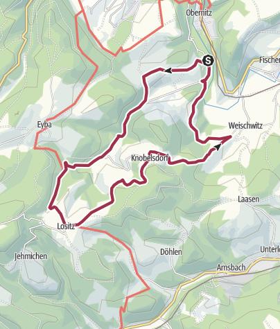 Map / Bienen- und Naturlehrpfad