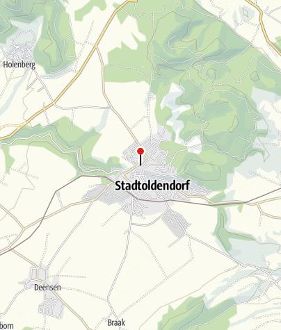 Karte / Wanderparkplatz Stadtoldendorf Mühlenanger