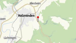 Karte / Wanderparkplatz Pipping