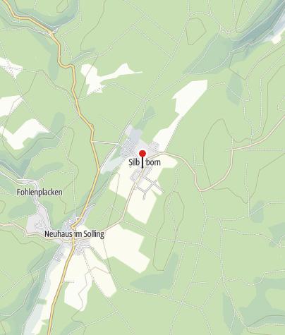 Karte / Wanderparkplatz Silberborn DGH