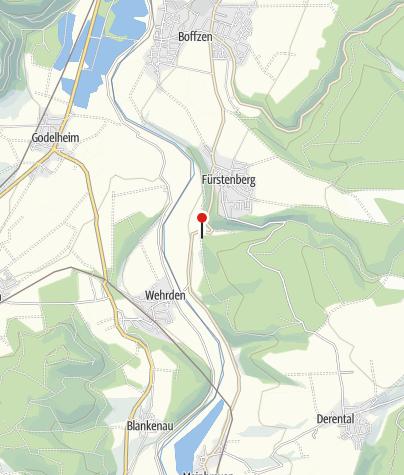 Karte / Wanderparkplatz Kastanienallee