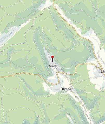 Karte / Wanderparkplatz Amelith