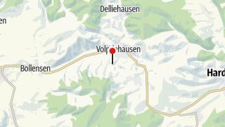 Karte / Wanderparkplatz Landhotel Am Rothenberg