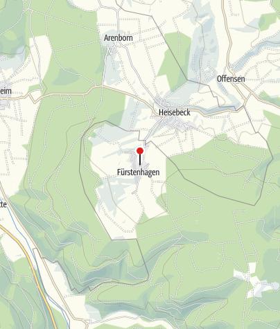 Karte / Wanderparkplatz Fürstenhagen