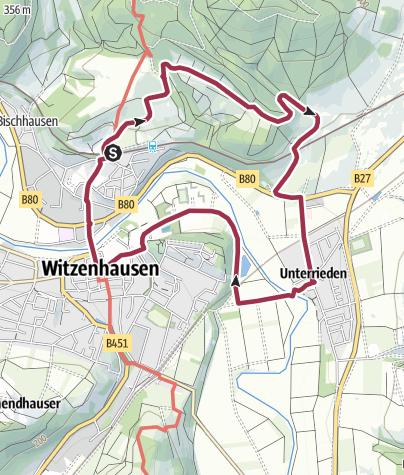 Karte / Kirschenwanderweg 2, Witzenhausen
