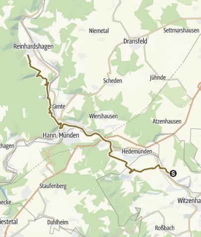 Karte / Himmelfahrt 2016 Tag 1